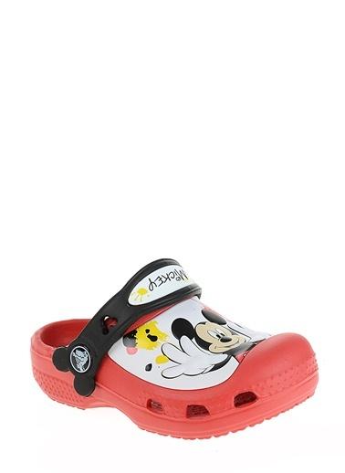 Creative Mickey Paint Splatter Clog Unisex Çocuk Sandalet-Crocs